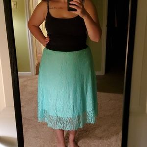 LuLaRoe Lace Skirt